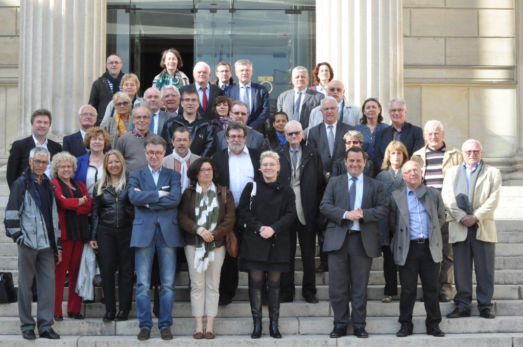 Visite de l assembl e avec des lus membres de rambouillet for Yvelines visite