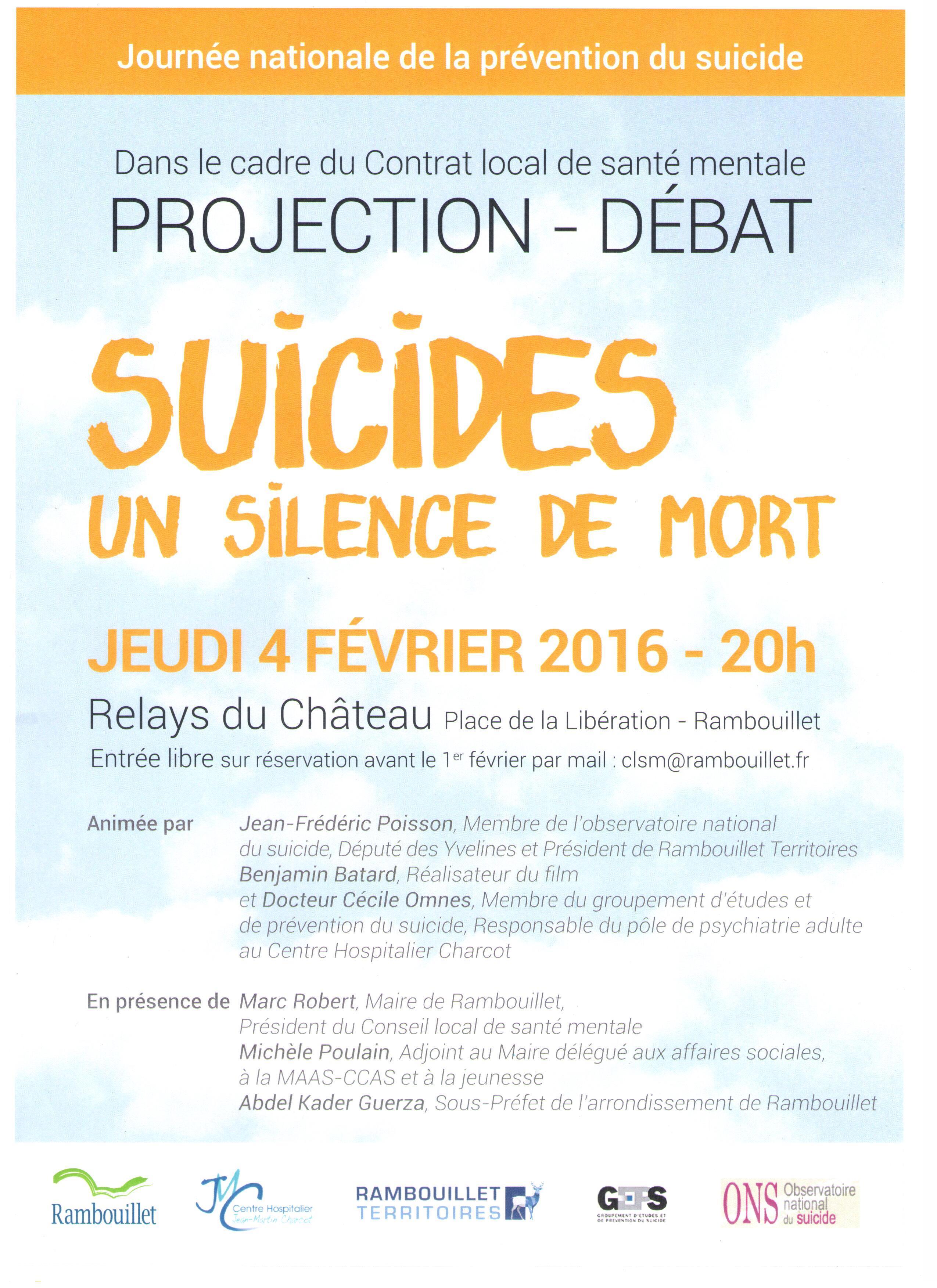 Débat suicide - 04022016