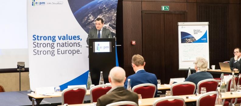 Bruxelles : Jean-Frédéric Poisson présent au lancement officiel de la campagne européenne de l'ECPM