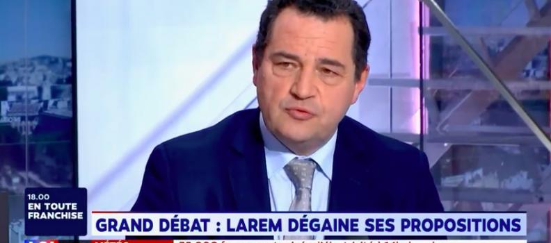 Coup de gueule de Jean-Frédéric Poisson sur LCI :  « il faut un changement profond de politique »