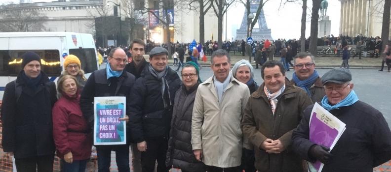 50.000 Marcheurs pour la Vie Un reportage exclusif de Boulevard Voltaire
