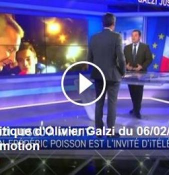 J'étais l'invité d'Olivier Galzi suite à la conférence de presse de François Fillon