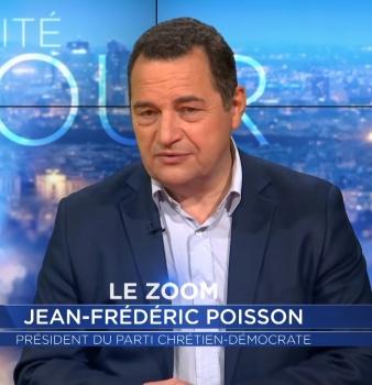 Zoom sur Jean-Frédéric Poisson : de l'union de la droite à Trump, les sujets qui fâchent !