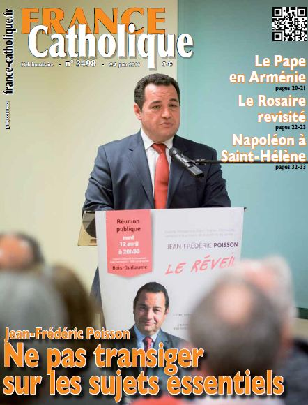 couverture france catholique