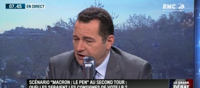 «Si, François Fillon est le mieux placé pour redresser la France» – j'étais l'invité de Jean-Jacques Bourdin sur BFMTV-RMC – 30 mars
