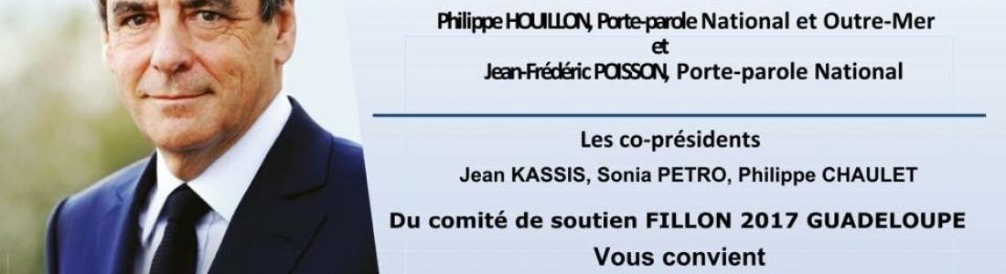 Présidentielle : réunion publique en soutien à François Fillon, Guadeloupe le 11/04