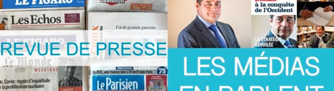Le livre de Jean-Frédéric Poisson dans les médias