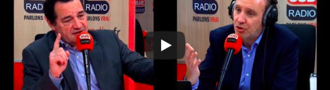 Jean-Frédéric Poisson invité de la matinale de Sud Radio le jeudi 21 mars