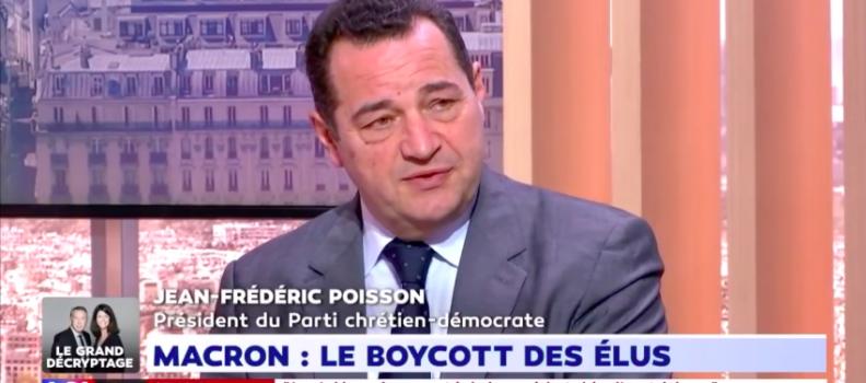 Jean-Frédéric Poisson dans le Grand Débat LCI du 29/03