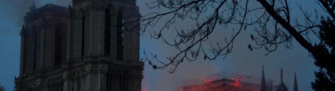 Vu dans Aleteia : Incendie à Notre-Dame de Paris : la classe politique face à un évènement historique