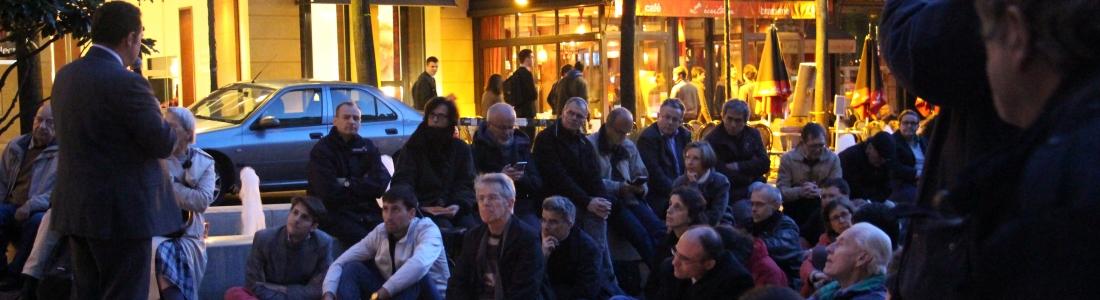 Le mardi 3 mai, avec les Veilleurs devant la Sorbonne