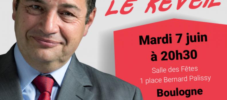 Primaire – Retrouvez-moi le 7 juin à Boulogne-Billancourt !