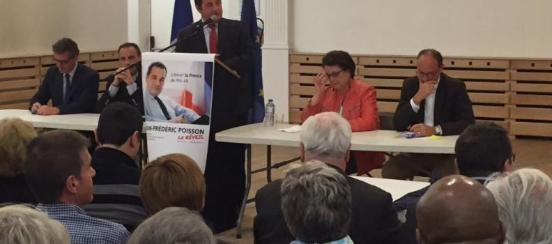 Primaire – Réunion publique au Chesnay le 9 mai