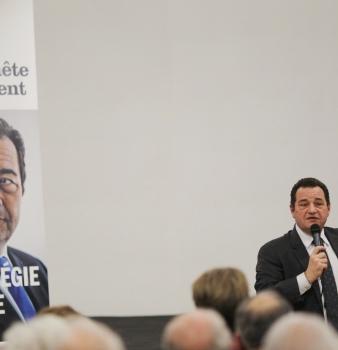 Prolongation du tour de France de conférences-dédicaces de Jean-Frédéric Poisson