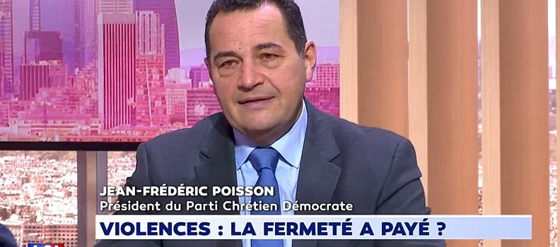 Jean-Frédéric Poisson sur LCI pour l'heure de Bachelot 25/03