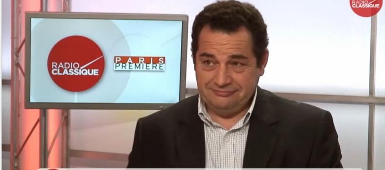 6 mai – J'étais l'invité de la matinale Radio Classique / Paris Première.