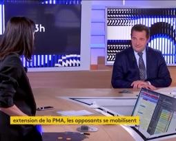 Manif anti-PMA sans Père : Jean-Frédéric Poisson sur France Info TV