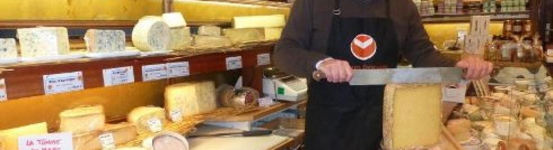 Réception avec notre Meilleur ouvrier de France, fromager à Rambouillet