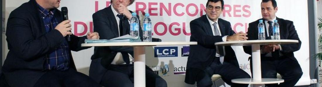 Intervention aux Rencontres du Dialogue social organisées par Libération et les Salons CE.