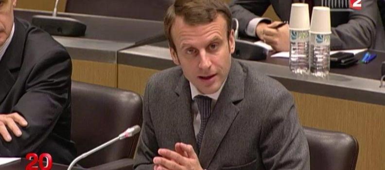Nommé orateur du groupe sur le projet de loi Macron