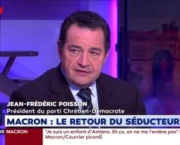 Macron et les Maires de France : Jean-Frédéric Poisson sur LCI le 20/11