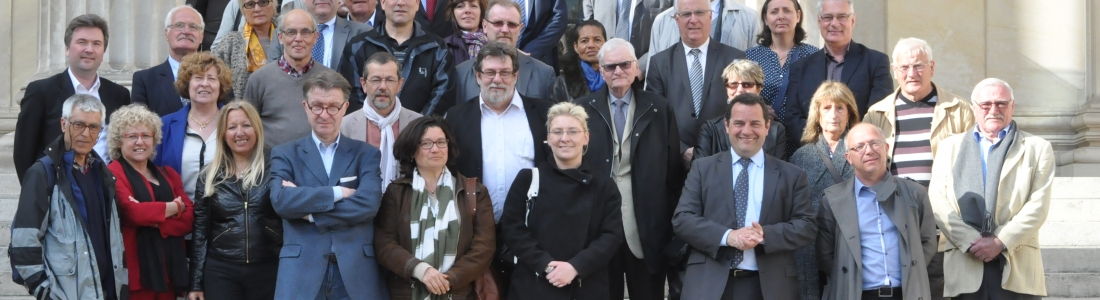 Visite de l'Assemblée avec des élus membres de Rambouillet Territoires