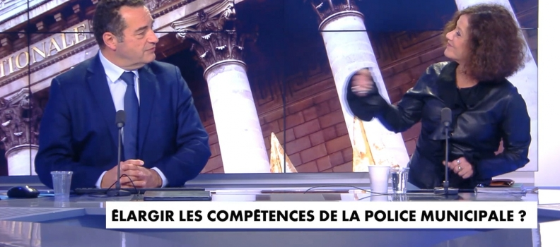 [TELEVISION] CNEWS : « Il n'est pas interdit non plus d'augmenter les effectifs de la police nationale ! »