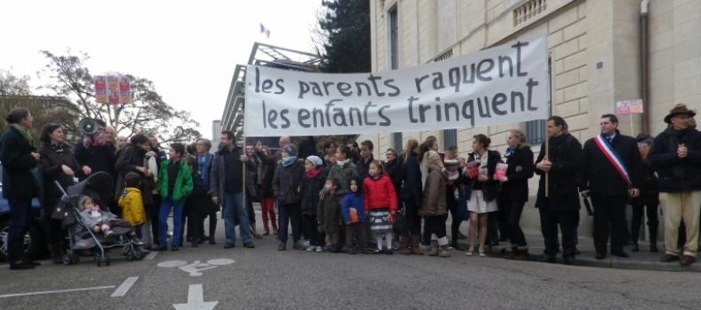 Avec les Familles plumées ce dimanche à Versailles !