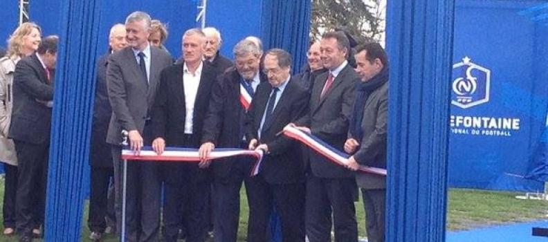 Inauguration du nouveau Centre Technique National de Football de Clairefontaine