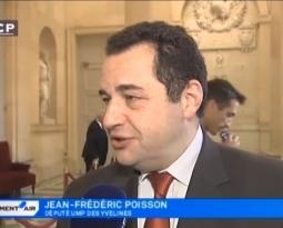 Sur LCP au sujet de la réforme territoriale et de la venue du pape à Strasbourg