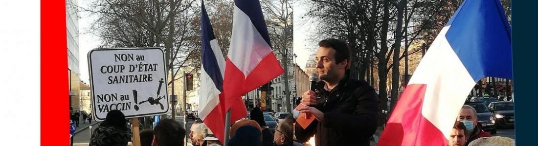 [PRESSE] Contre la «coronafolie», manifestation aux portes du ministère d'Olivier Véran
