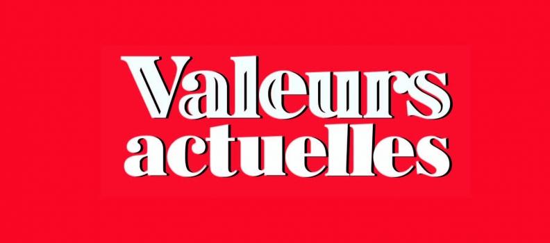 Fin de vie : mon interview pour Valeurs actuelles.