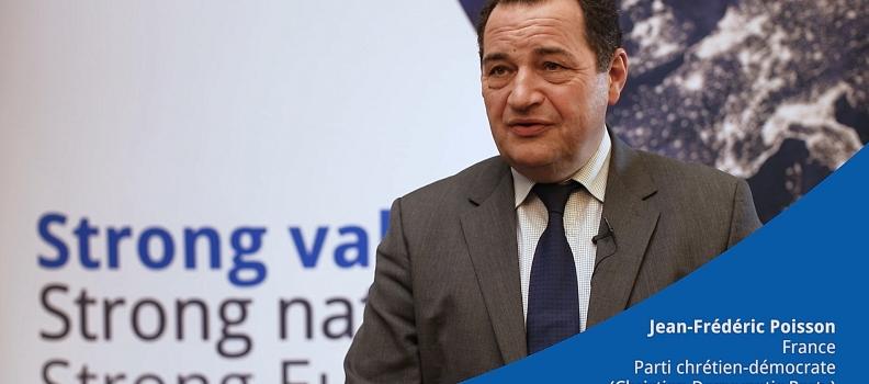 Interview de Jean-Frédéric Poisson lors de l'AG de l'ECPM